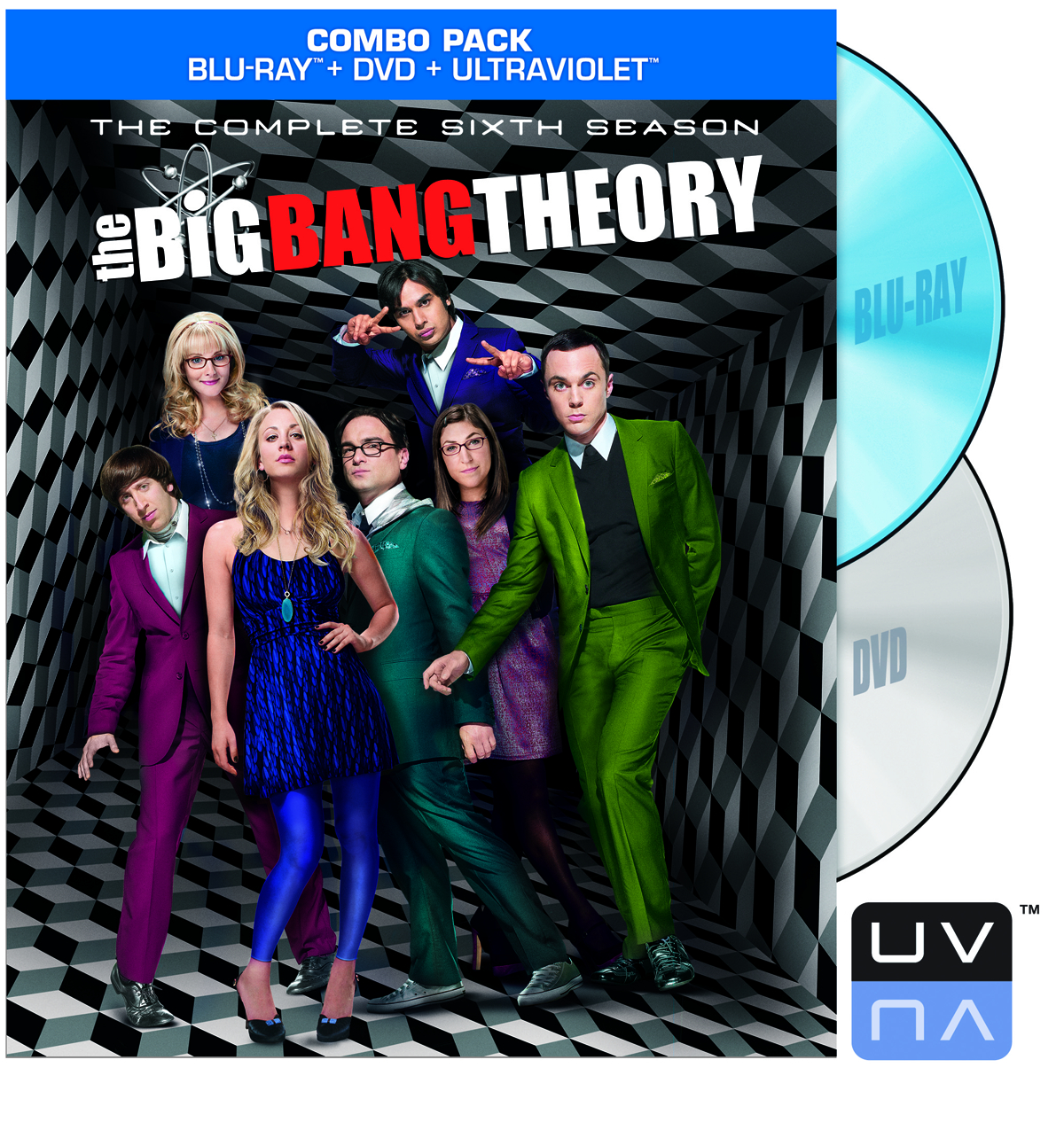 BIG BANG THEORY BD + DVD SEA 06