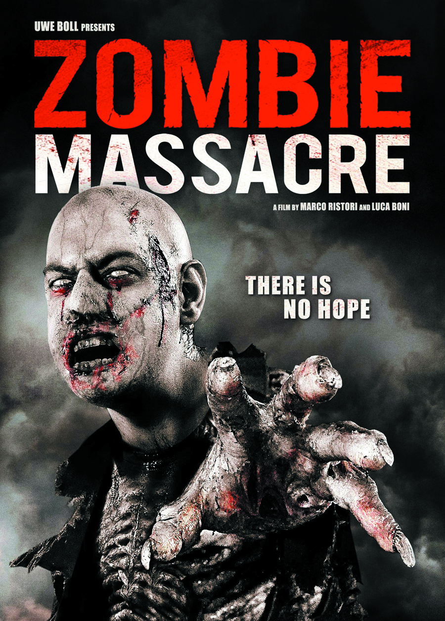 ZOMBIE MASSACRE DVD