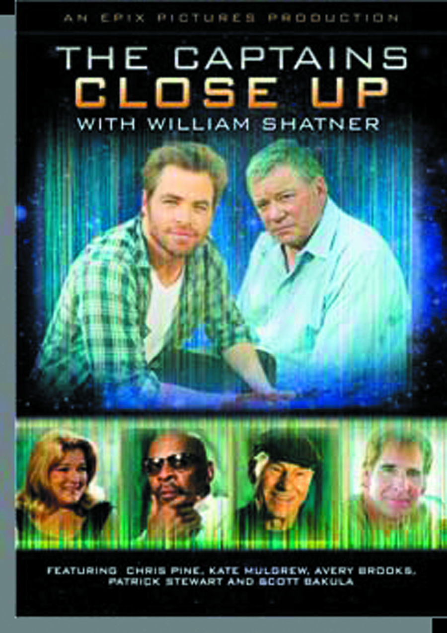 CAPTAINS CLOSE UP WITH WILLIAM SHATNER DVD