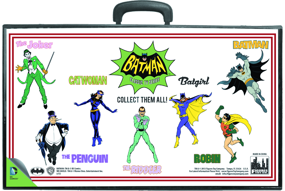 BATMAN RETRO 8IN AF - FIGURES - CARRY CASE
