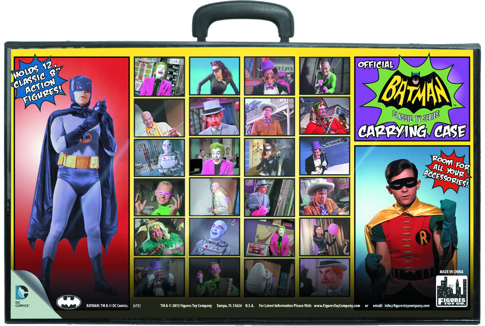 BATMAN RETRO 8IN AF - TVSERIES - CARRY CASE