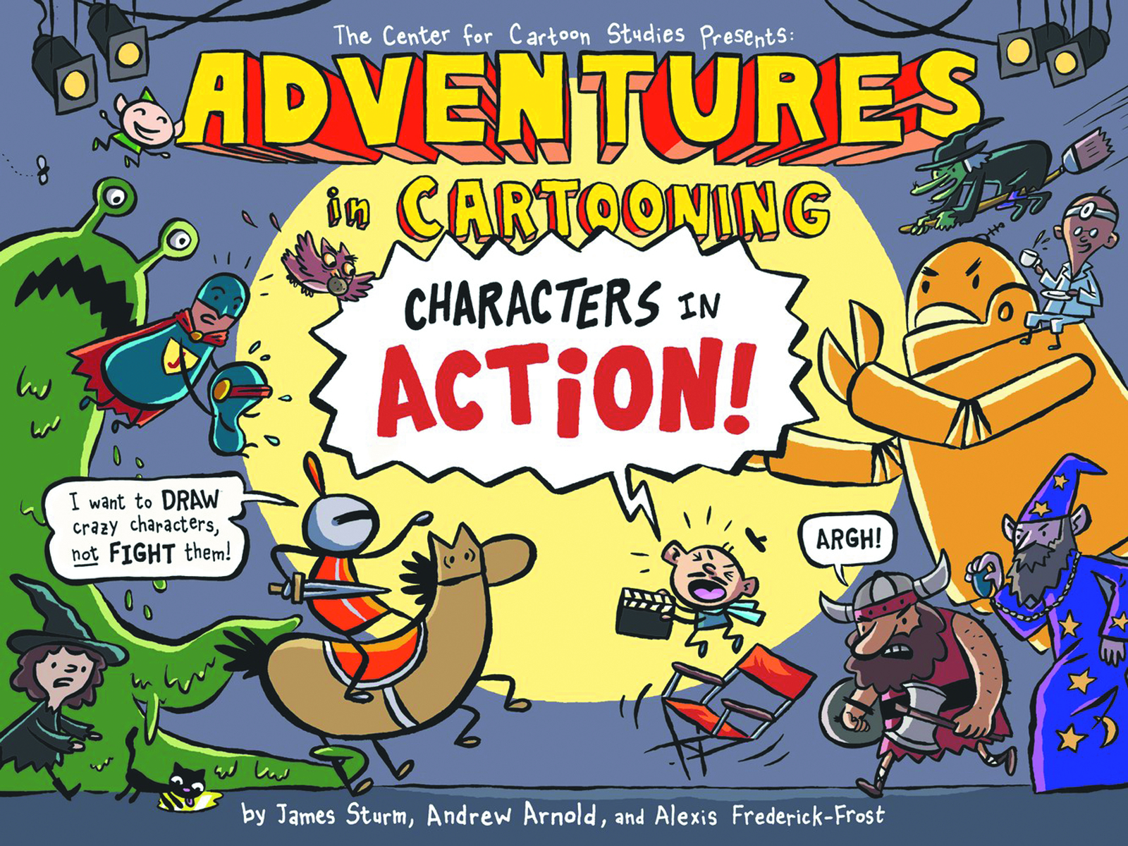 (USE FEB178015) ADVENTURES IN CARTOONING CHARACTERS IN ACTIO