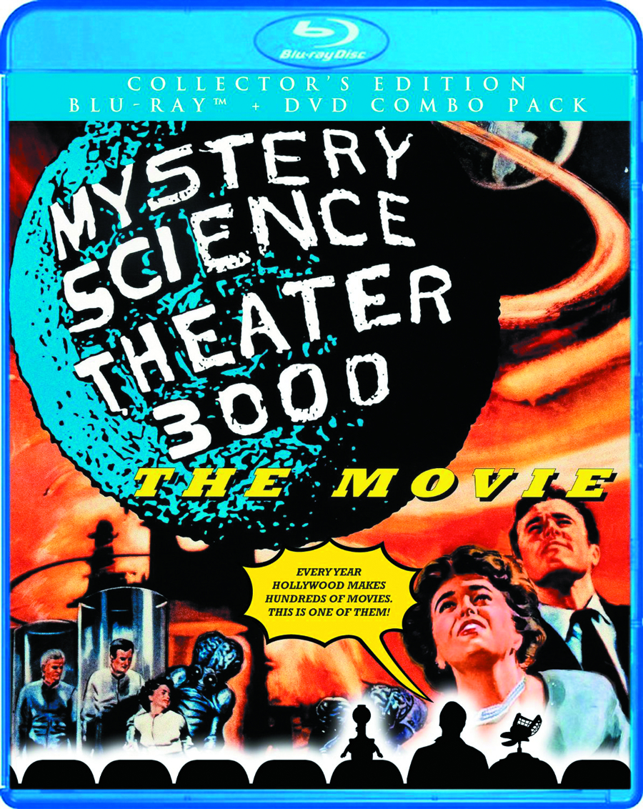 MST3K THE MOVIE BD + DVD