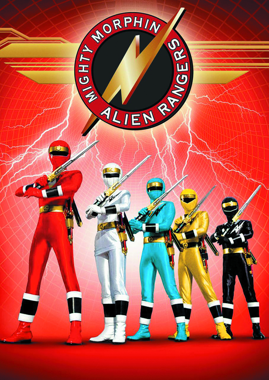 MIGHTY MORPHIN ALIEN RANGERS DVD