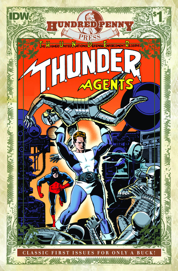 100 PENNY PRESS THUNDER AGENTS CLASSIC