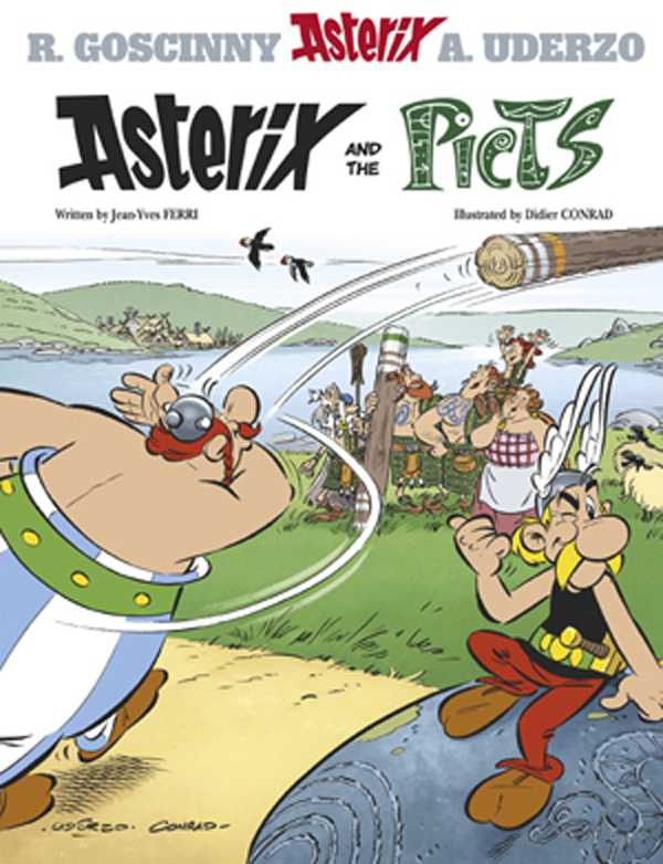 ASTERIX AND THE PICTS HC