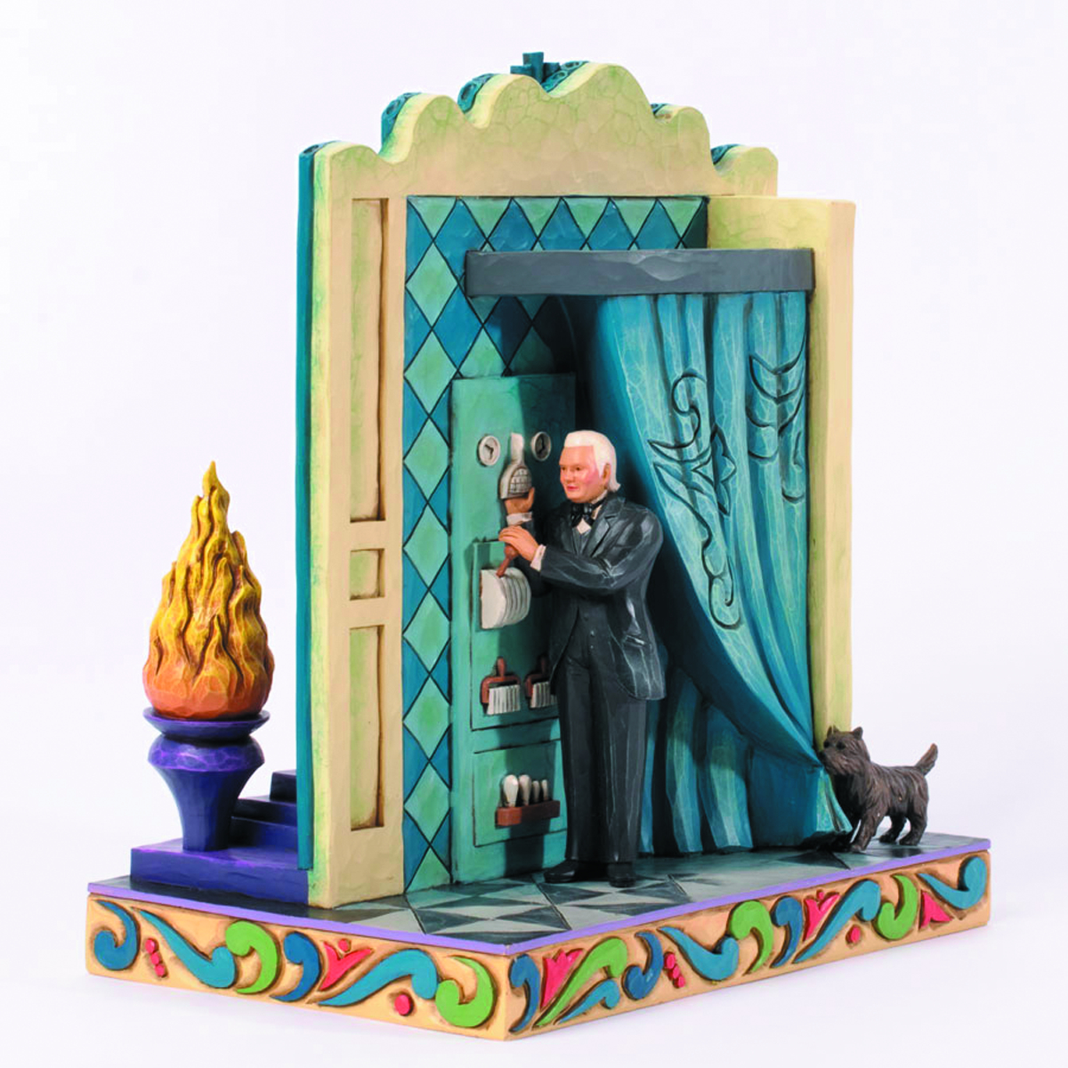 WIZARD OF OZ DOUBLE-SIDED WIZARD FIGURINE