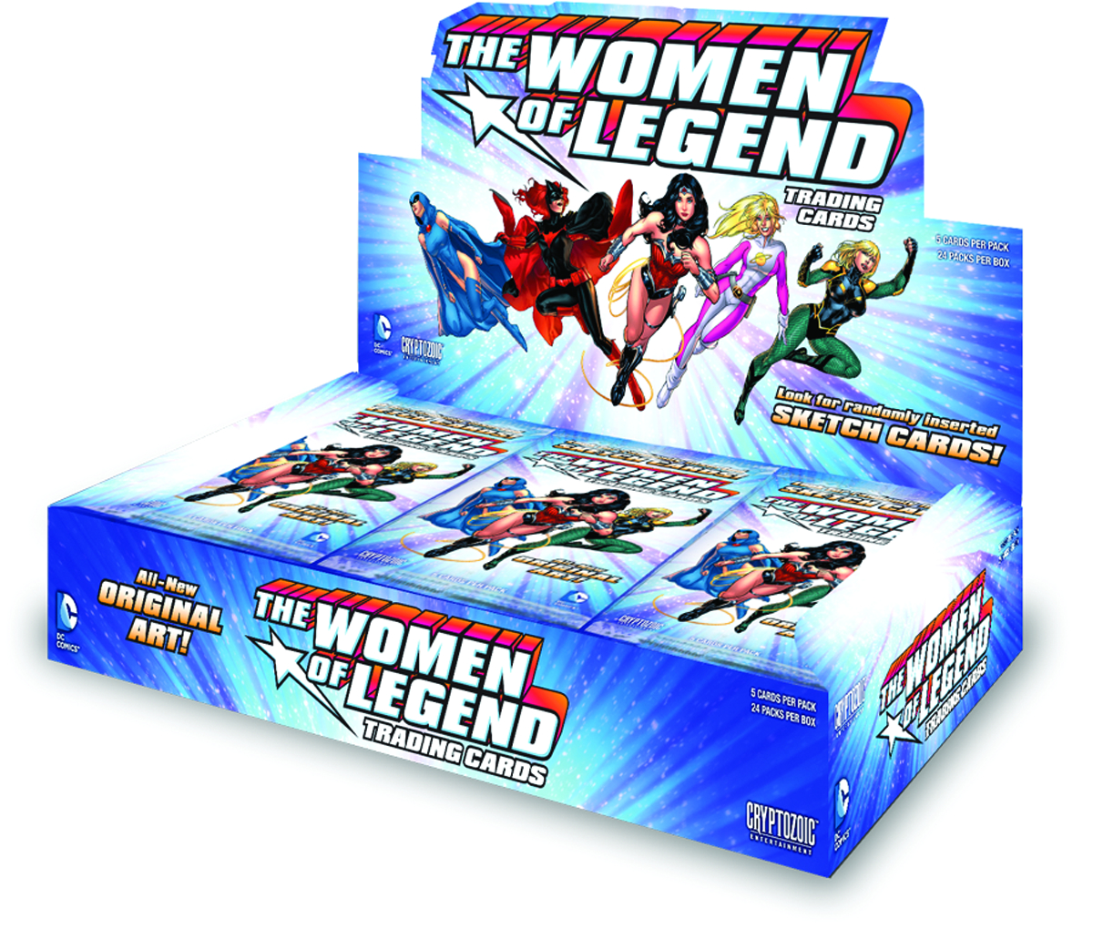DC WOMEN OF LEGEND T/C BOX