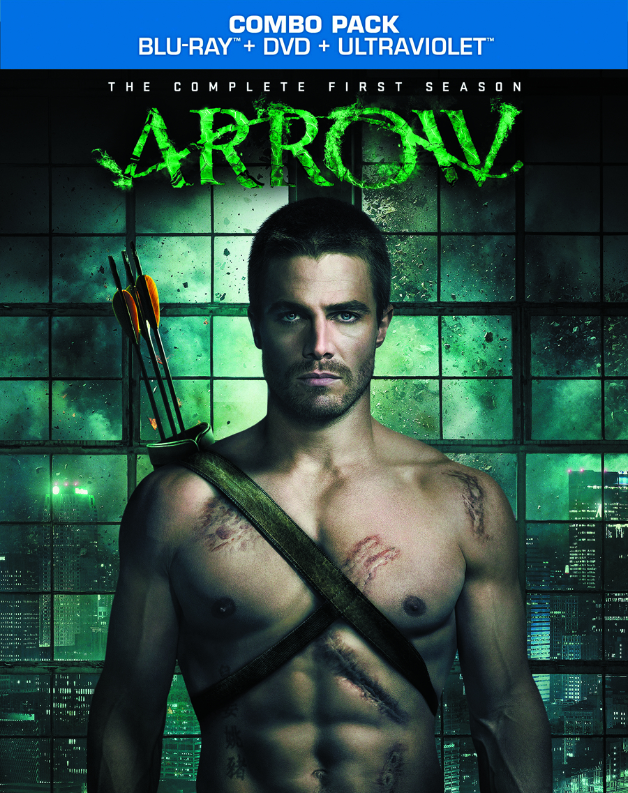 ARROW BD + DVD COMP FIRST SEA