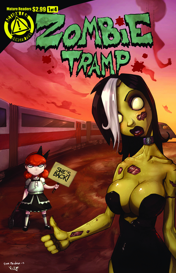 ZOMBIE TRAMP VOL 2 #1 (OF 4)