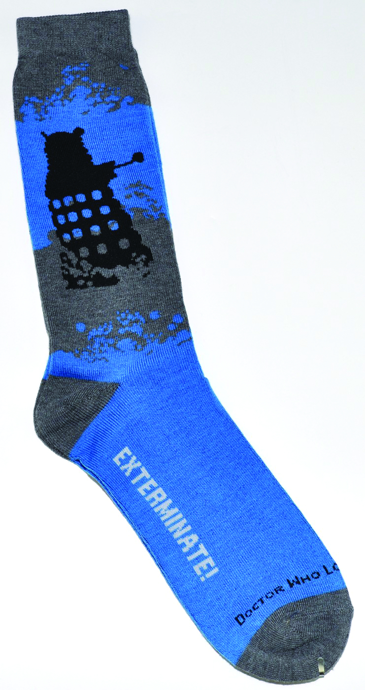 DOCTOR WHO DALEK CREW SOCKS
