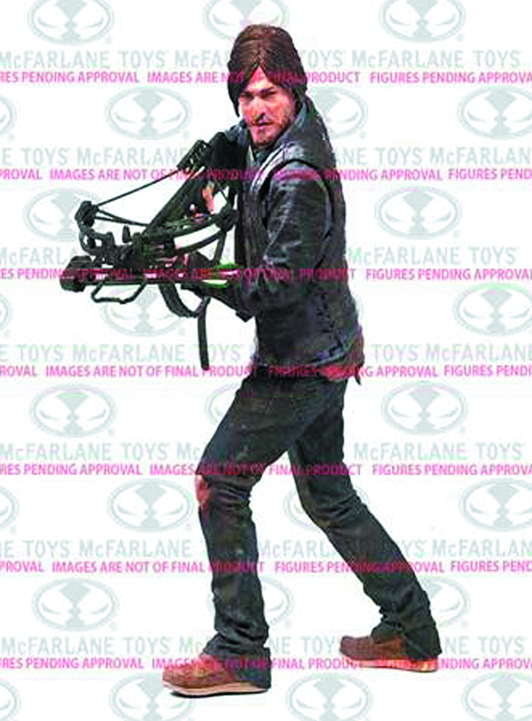 WALKING DEAD TV 10IN DARYL DIXON DLX AF CS