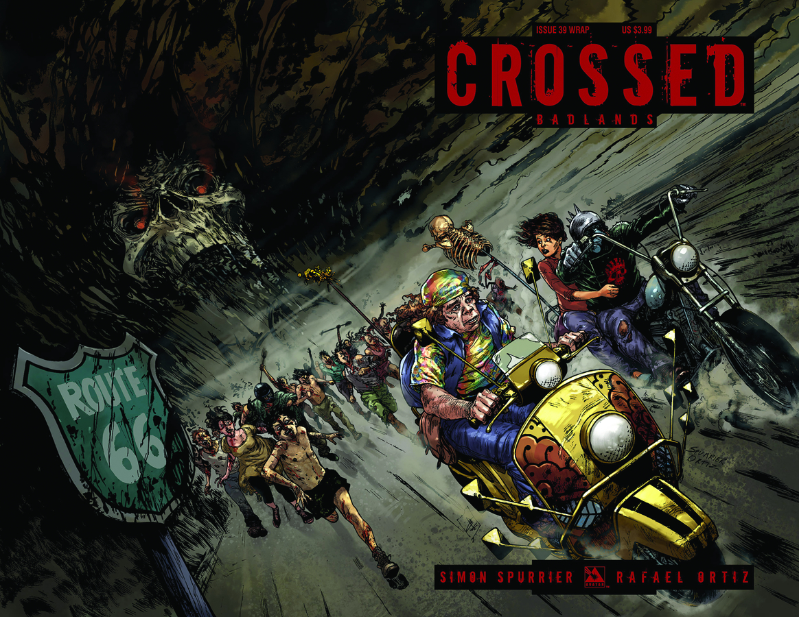CROSSED BADLANDS #39 WRAP CVR