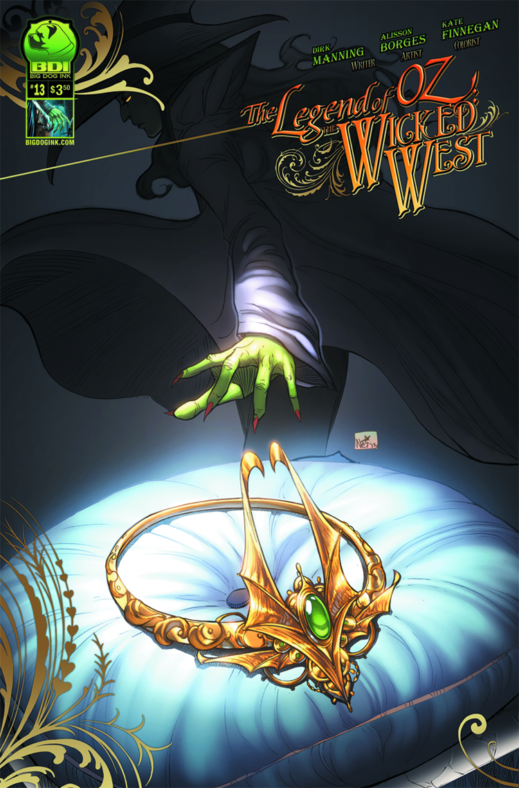 LEGEND OF OZ THE WICKED WEST ONGOING #13