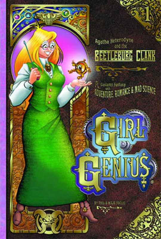 GIRL GENIUS TP VOL 01 AGATHA & BEETLEBURG