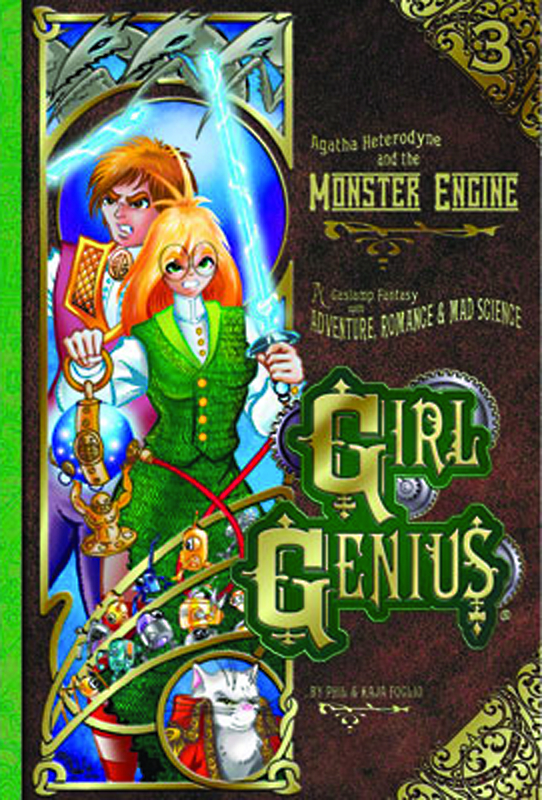 GIRL GENIUS TP VOL 03 AGATHA AND THE MONSTER ENGINE