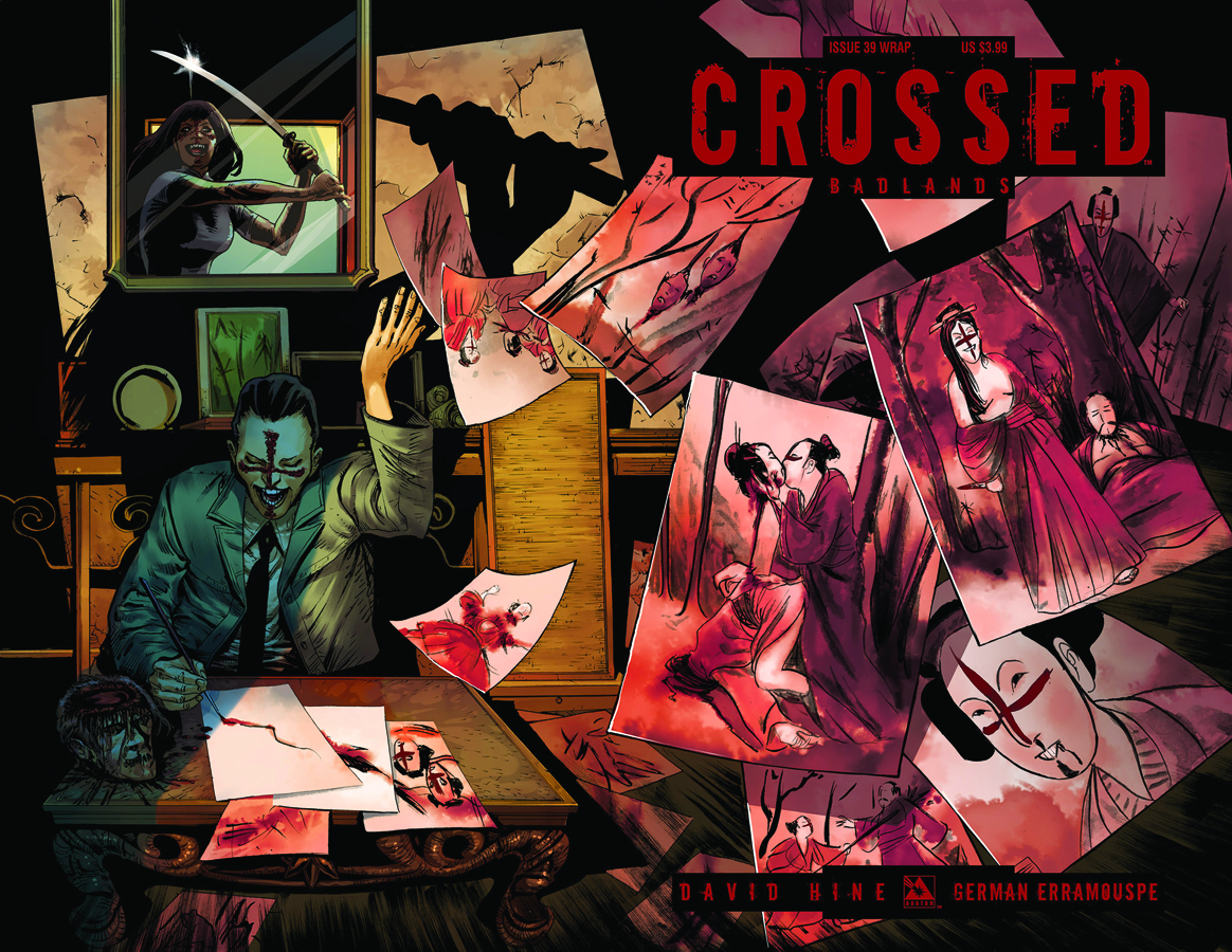 CROSSED BADLANDS #40 WRAP CVR