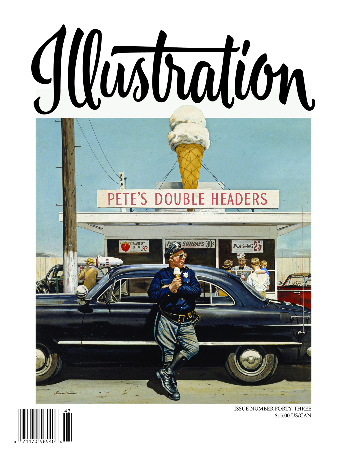 ILLUSTRATION MAGAZINE #43