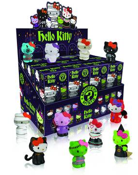 MYSTERY MINIS HELLO KITTY 24PC DISP