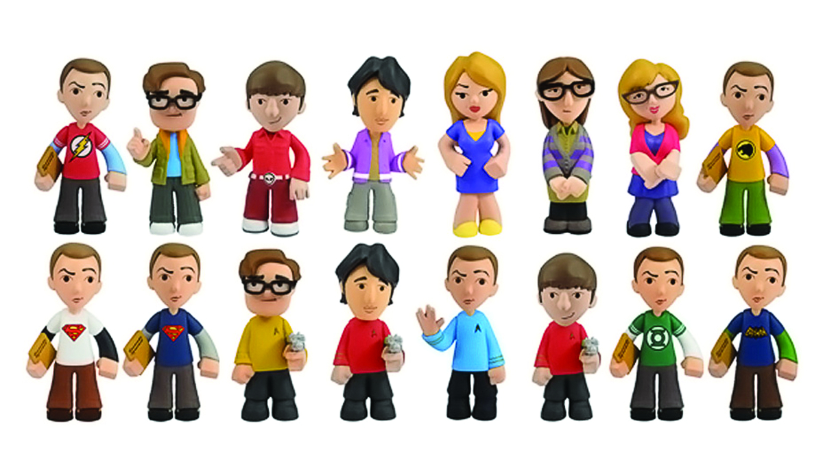 BIG BANG THEORY MYSTERY MINIS 24PC DISP