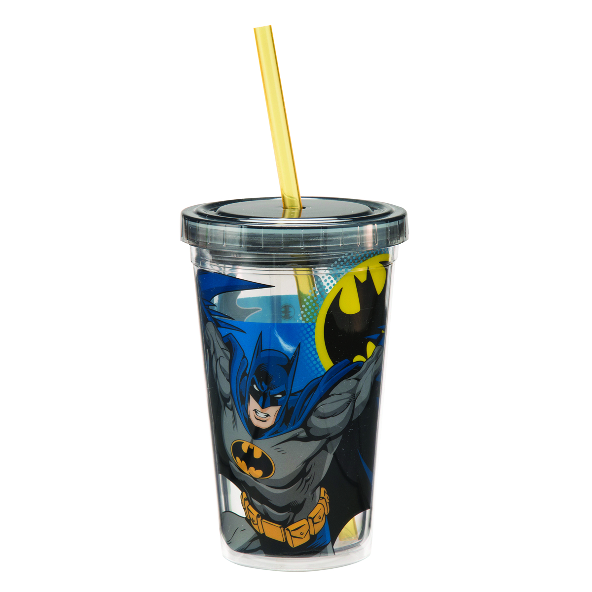 BATMAN 12OZ ACRYLIC TRAVEL CUP