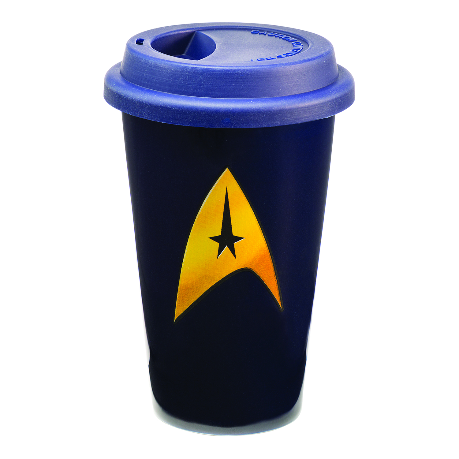 STAR TREK 12OZ CERAMIC TRAVEL MUG