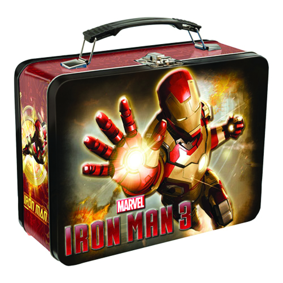 IRON MAN LARGE TIN TOTE