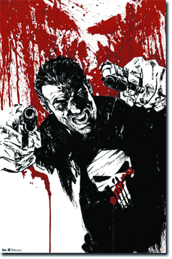 PUNISHER PISTOLS 22 X 34 POSTER