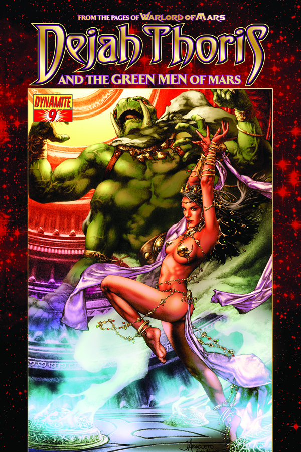 DEJAH THORIS & GREEN MEN OF MARS #9 (OF 12)