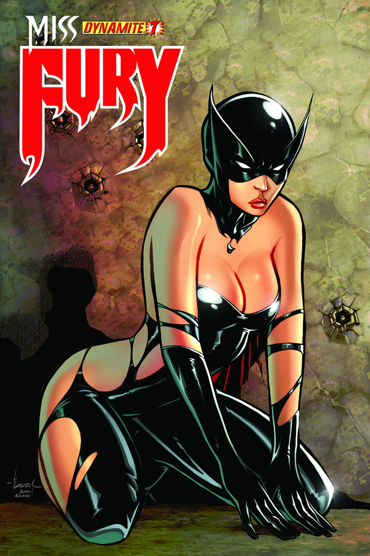 MISS FURY #7 15 COPY GARZA RISQUE INCV