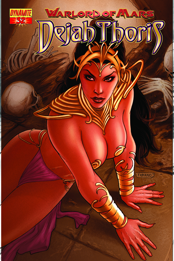 WARLORD OF MARS DEJAH THORIS #32 25 COPY RUBI RISQUE INCV