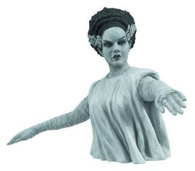 UNIVERSAL MONSTERS BRIDE B&W BUST BANK