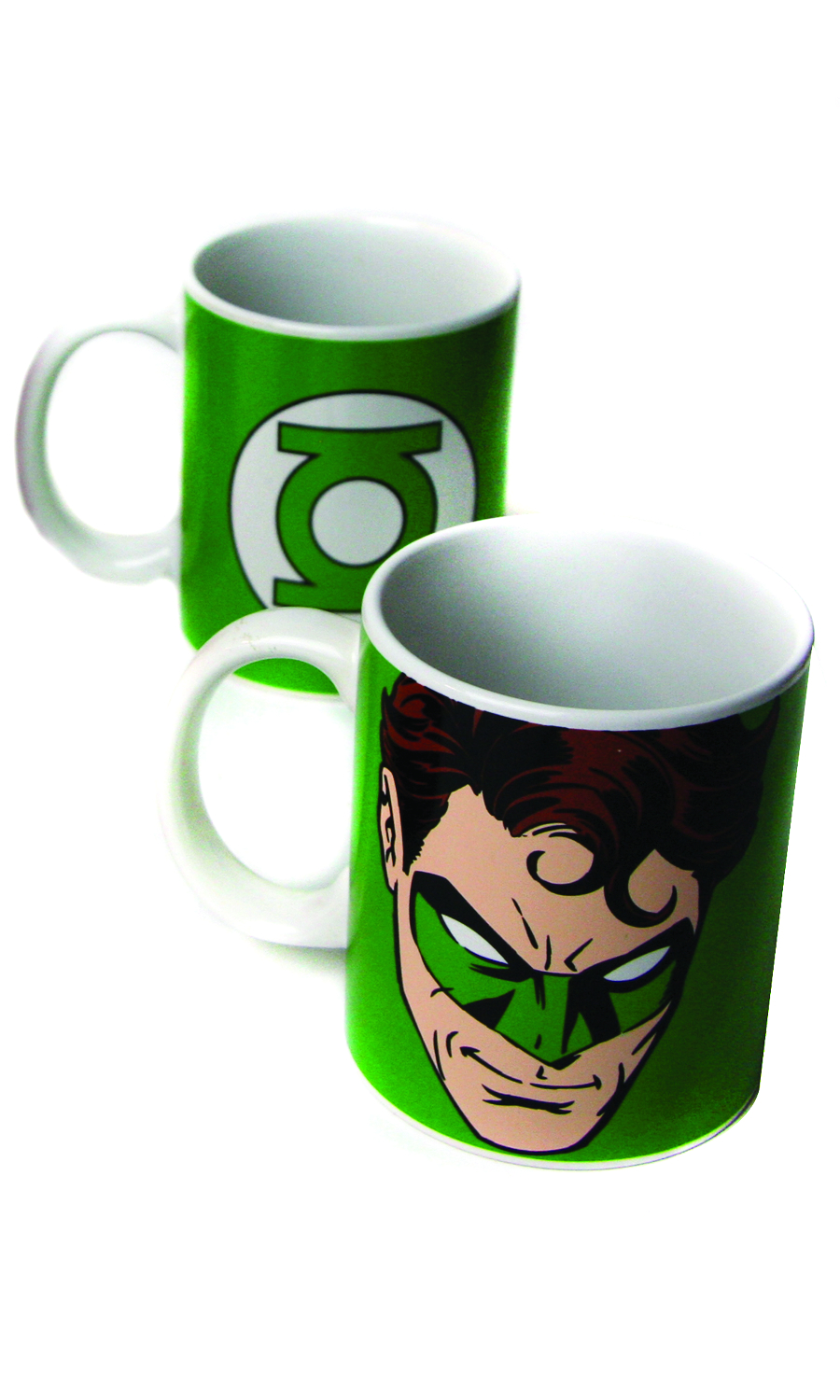 GREEN LANTERN FACE 12OZ COFFEE MUG