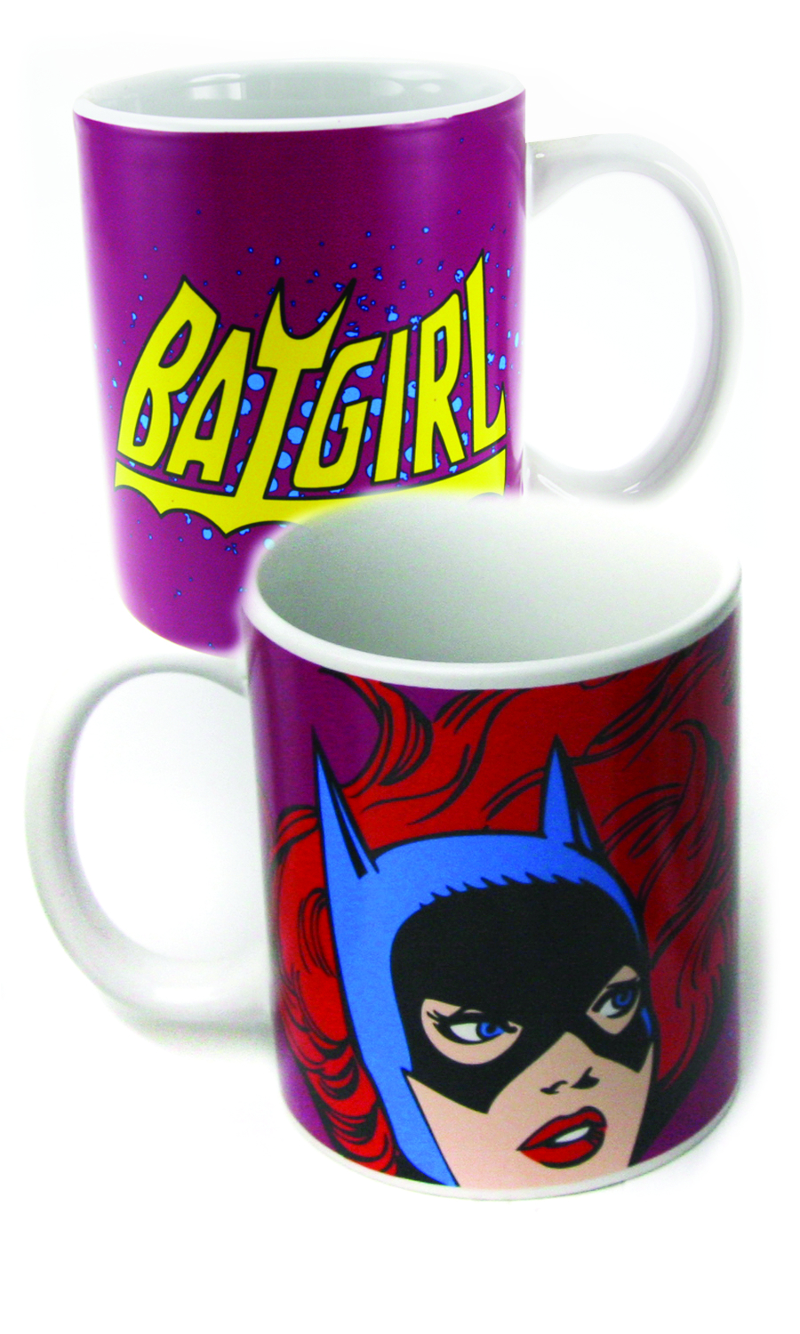BATGIRL FACE 12OZ COFFEE MUG