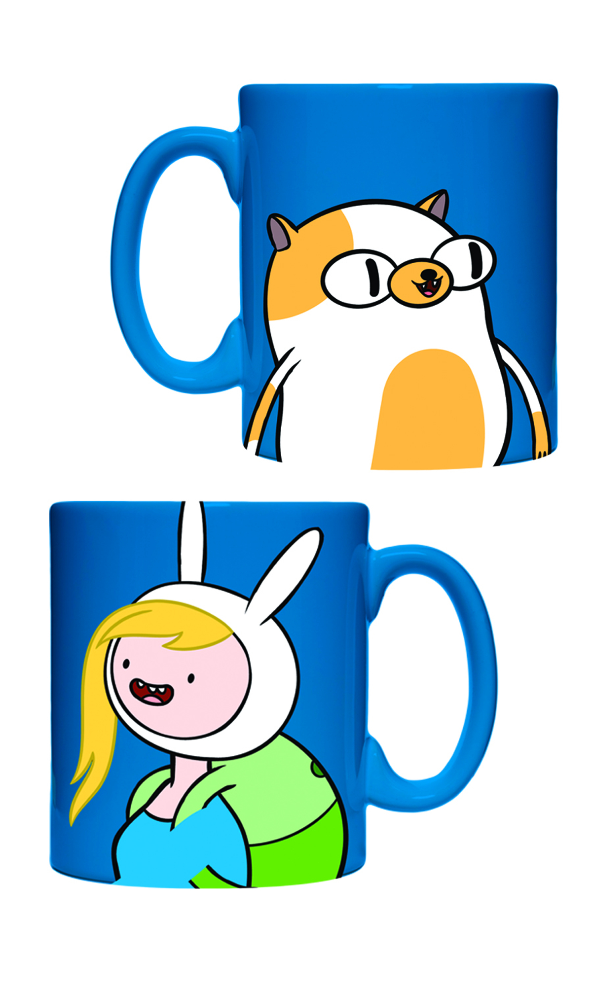 ADVENTURE TIME FIONNA & CAKE MUG