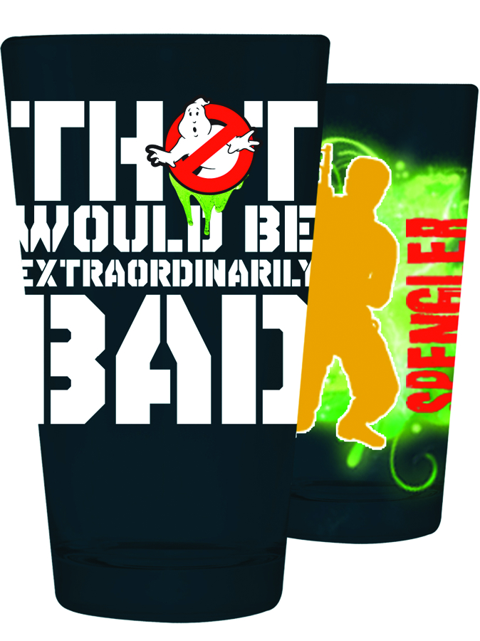 GHOSTBUSTERS SAYINGS PINT GLASS 4PK