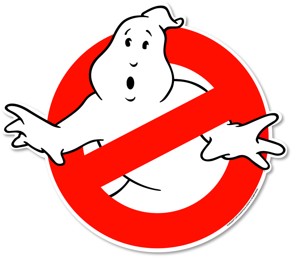 GHOSTBUSTERS LOGO CAR MAGNET