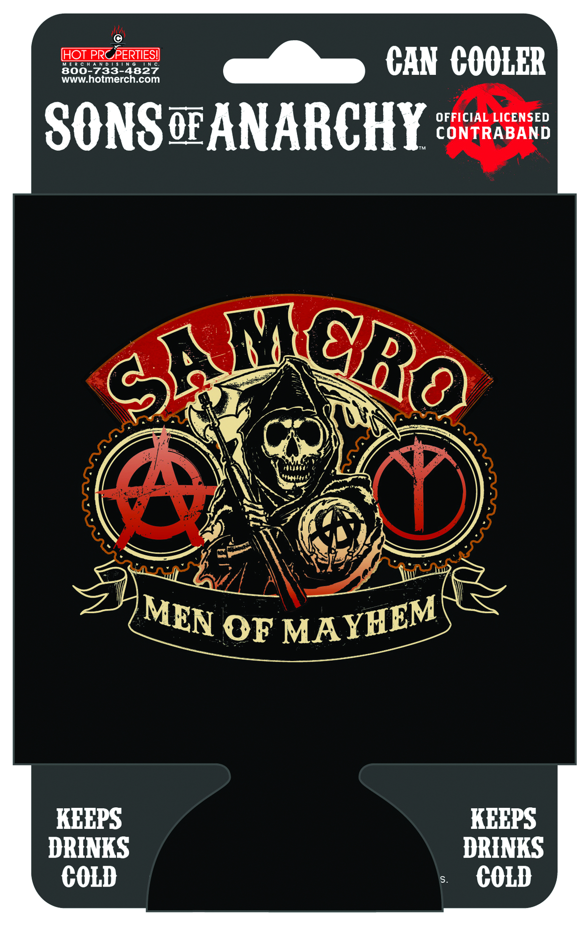 SONS OF ANARCHY MEN OF MAYHEM CAN COOLER
