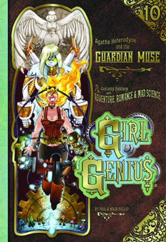 GIRL GENIUS TP VOL 10 AGATHA H & GUARDIAN MUSE (NEW PTG)