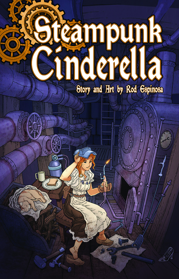 STEAMPUNK CINDERELLA ONE SHOT