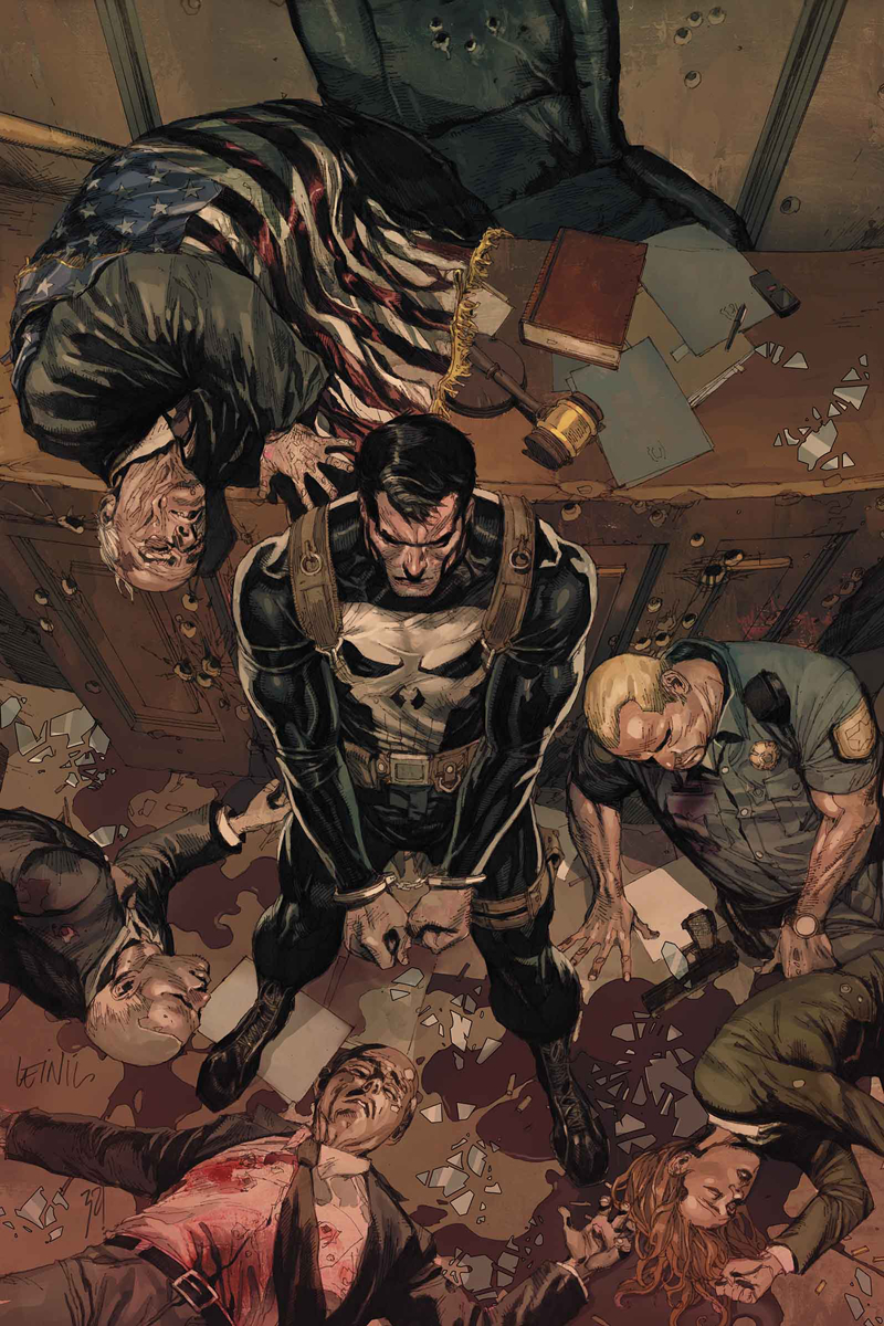 PUNISHER TRIAL OF PUNISHER #2