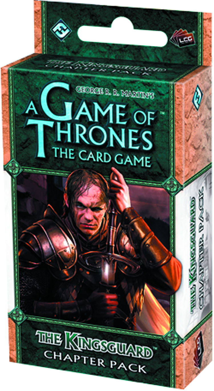 GAME THRONES LCG KINGSGUARD CHAPTER PACK