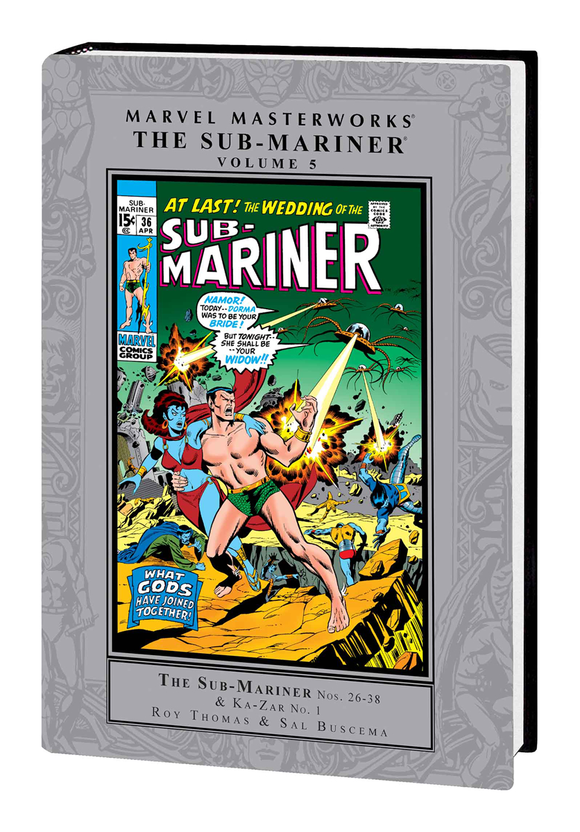 MMW SUB MARINER HC VOL 05
