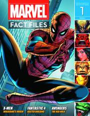 MARVEL FACT FILES #1 SPIDER-MAN COVER
