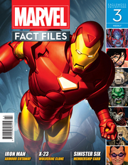 MARVEL FACT FILES #3 IRON MAN COVER