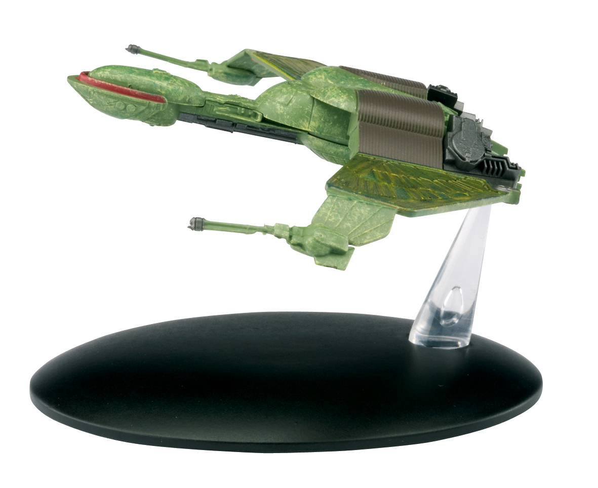 STAR TREK STARSHIPS FIG MAG #3 KLINGON BIRD OF PREY