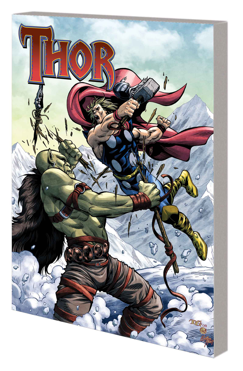 MARVEL UNIVERSE THOR COMIC READER TP #2
