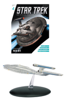 STAR TREK STARSHIPS FIG MAG #4 ENTERPRISE NX-01