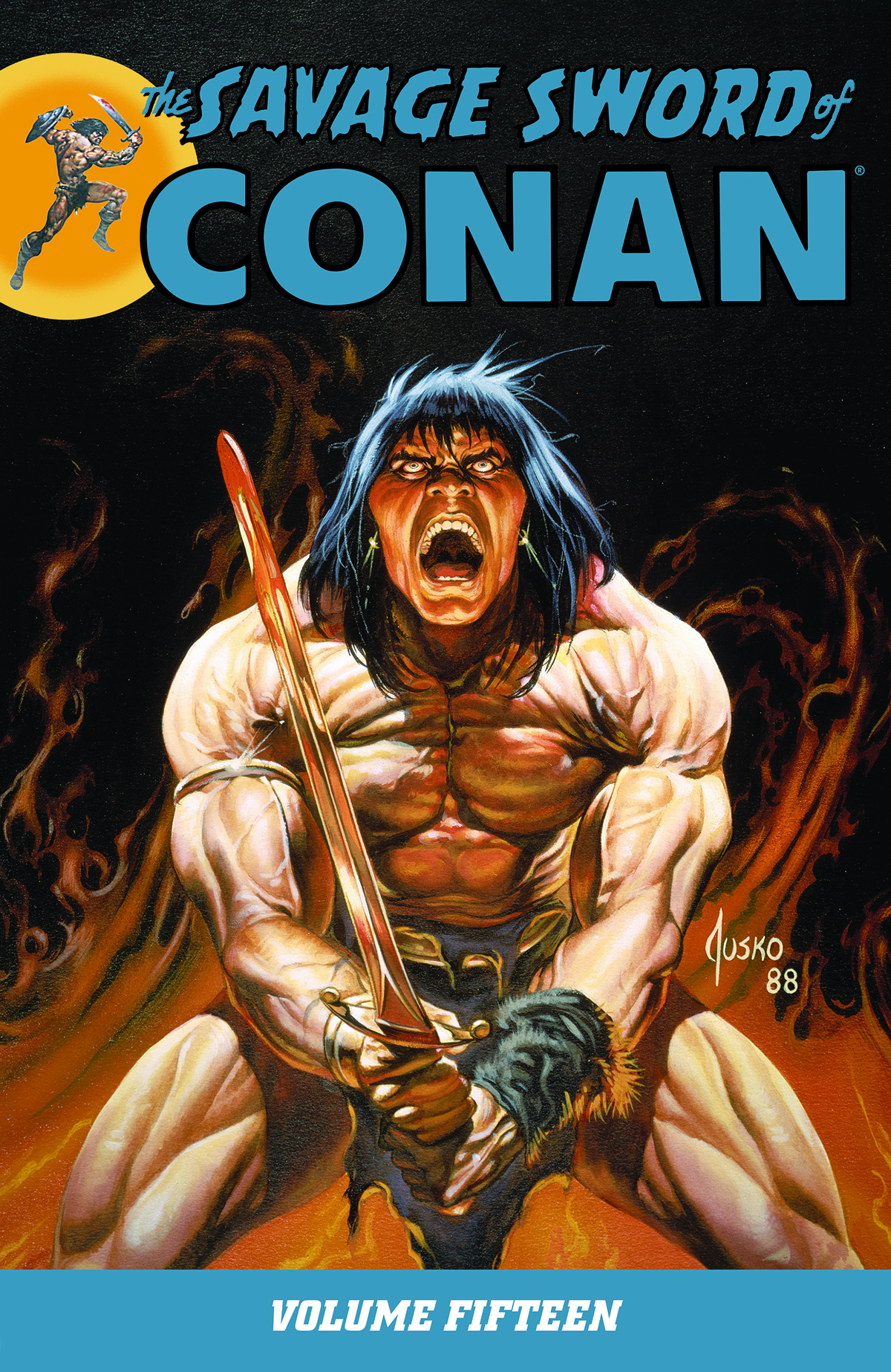 SAVAGE SWORD OF CONAN TP VOL 15