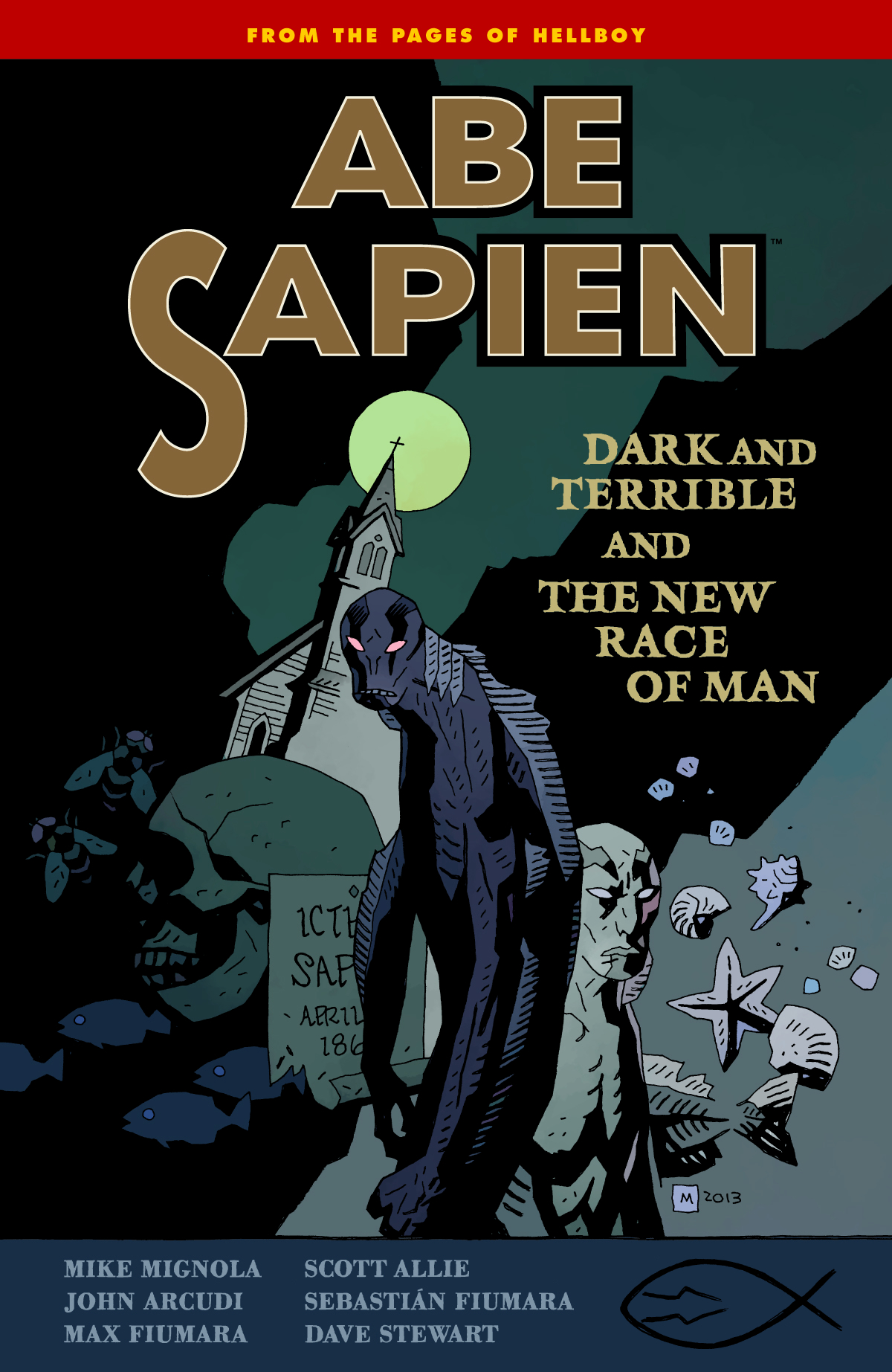 ABE SAPIEN TP VOL 03 DARK TERRIBLE NEW RACE MAN